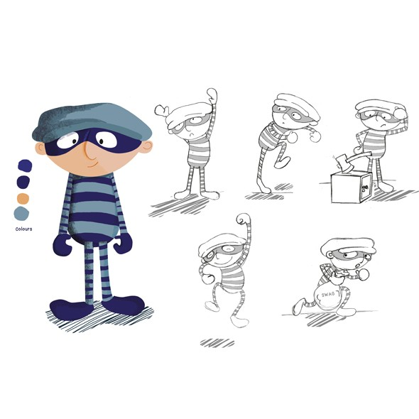 Character Design - Robber