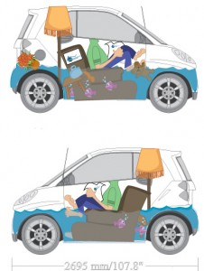 Smart Car Wrap Design